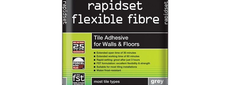 rapidset flexible fibre (grey 20kg)