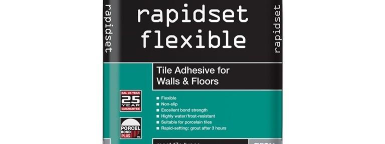 Flexible floor tile adhesive bq