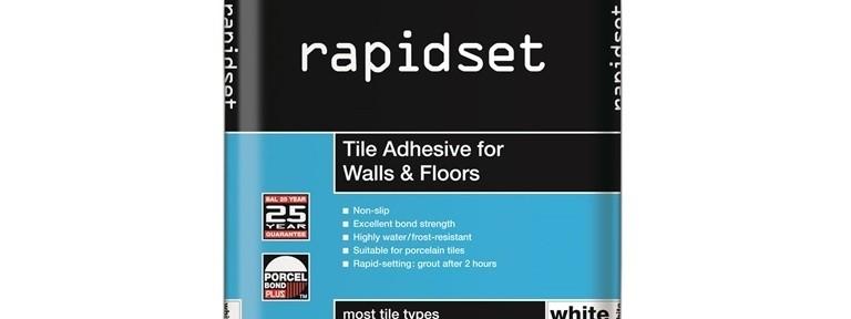 rapidset (white 20kg) Topps