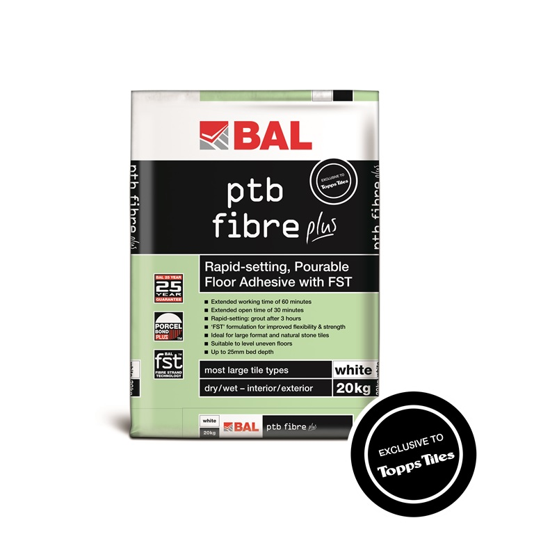 bal ptb fibre plus tiling products bal adhesives. Black Bedroom Furniture Sets. Home Design Ideas