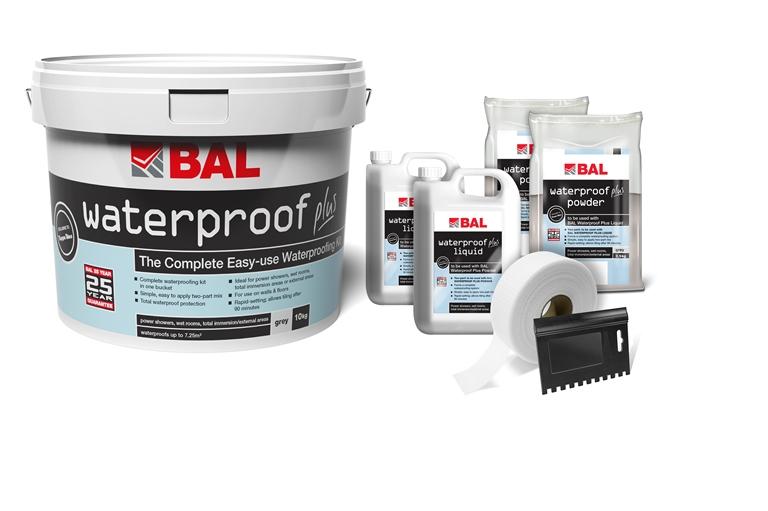 Bal Waterproof Plus Tiling Products Bal Adhesives