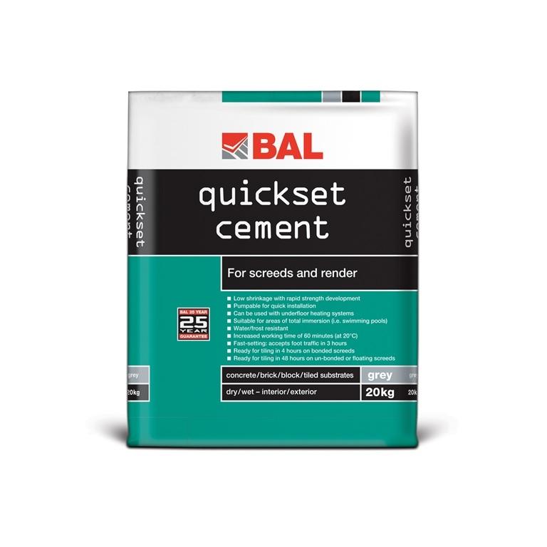 quickset cement 20kg