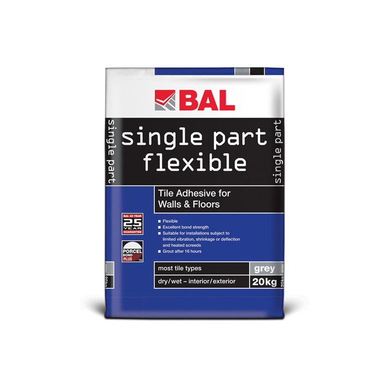 single part flexible (grey 20kg)