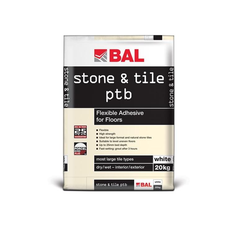 stone & tile ptb White