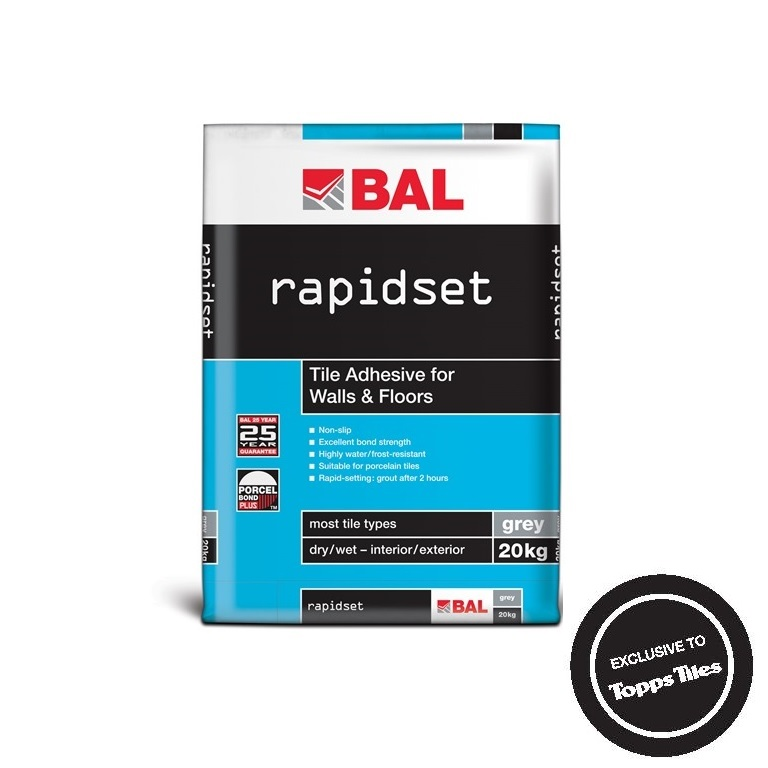 Bal Rapidset Tiling Products Bal Adhesives