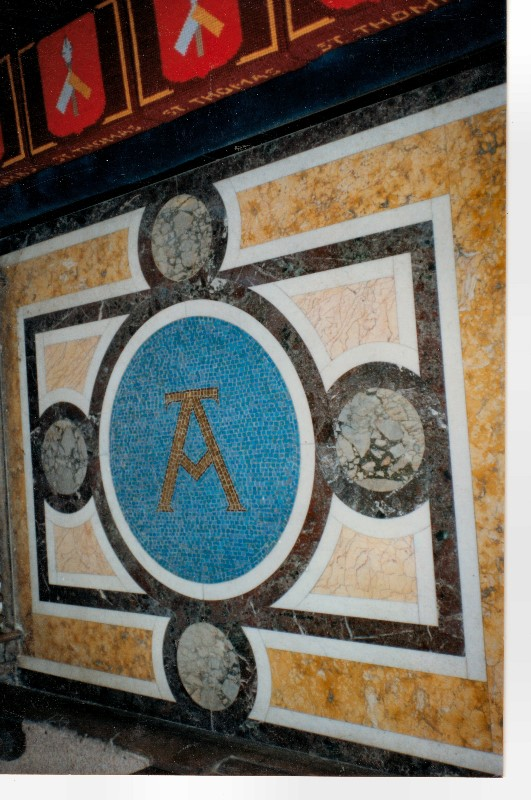 Mosaic-Alpha-symbol-IOM-church