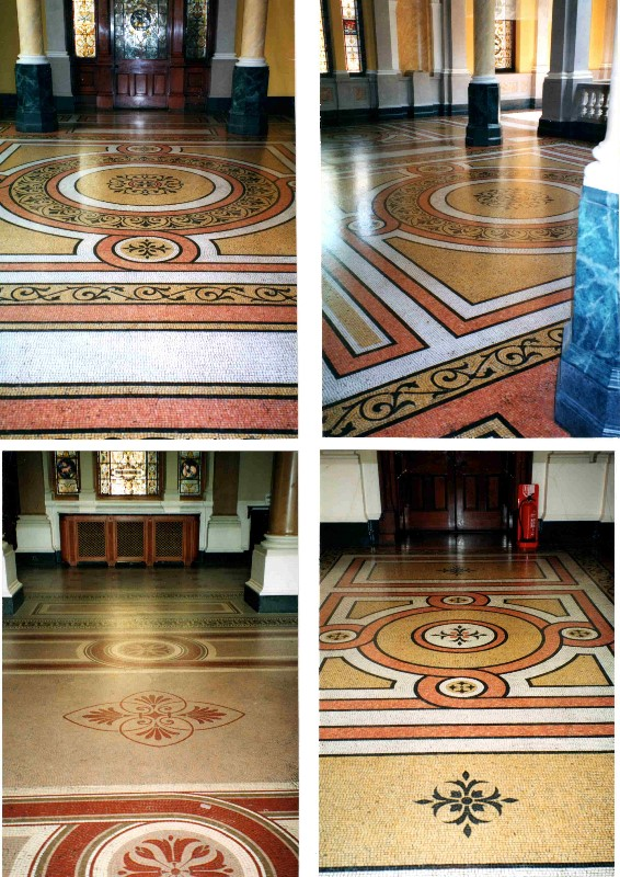 Set-of-pics-showing-the-size-of-the-mosaic-floors