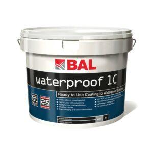 BAL Waterproof 1C one coat wateproofing kit
