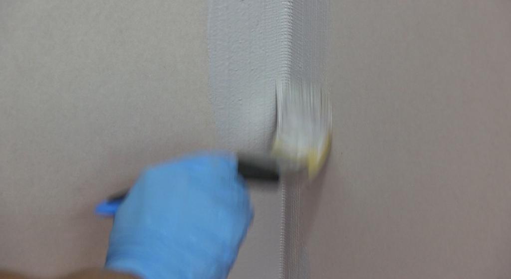 How to waterproof - BAL Waterproof 1 C brushing in